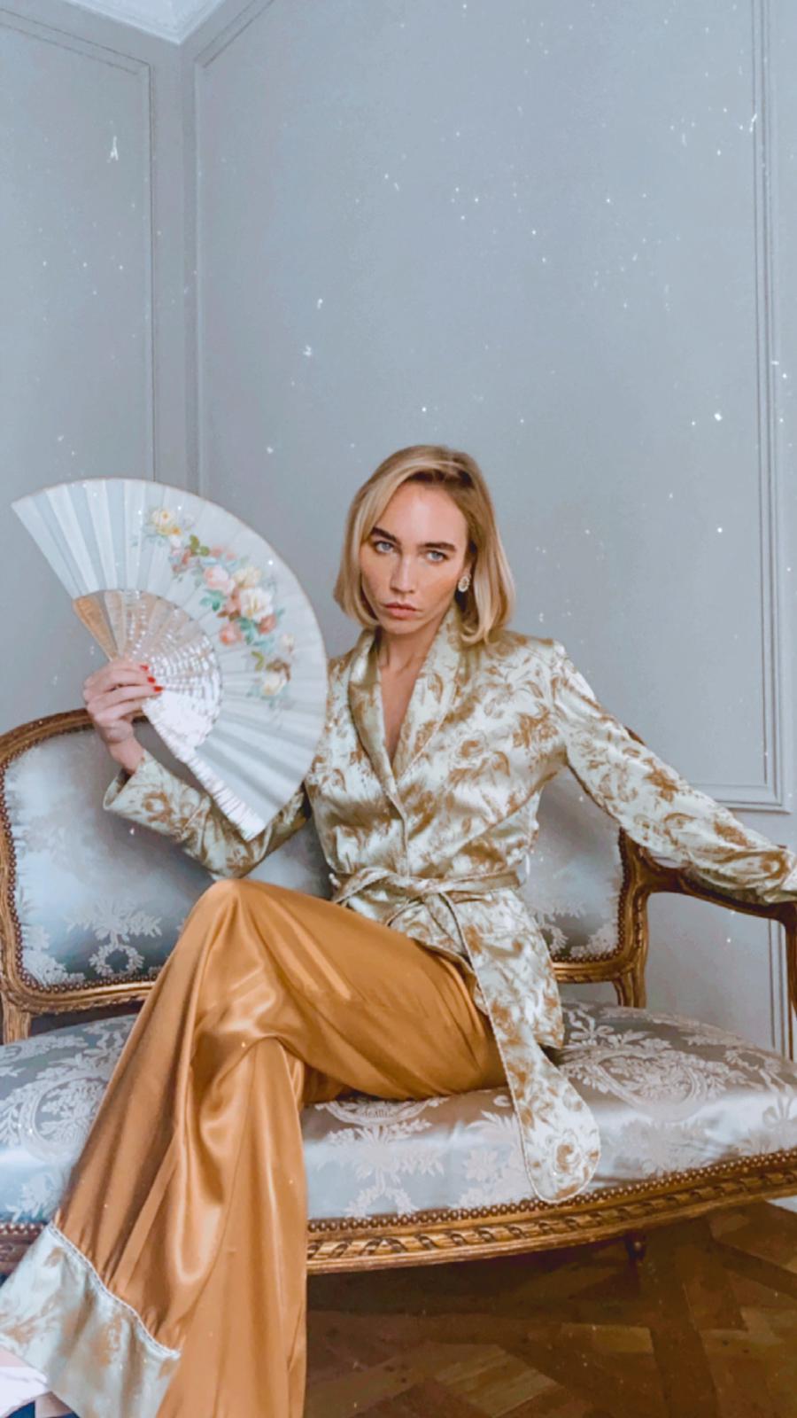 Goldie Diana d'Orville luxury suit