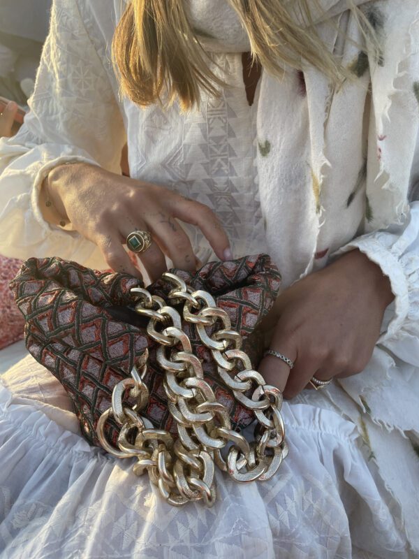 Luxury Couture Purse made in Paris Diana d'Orville