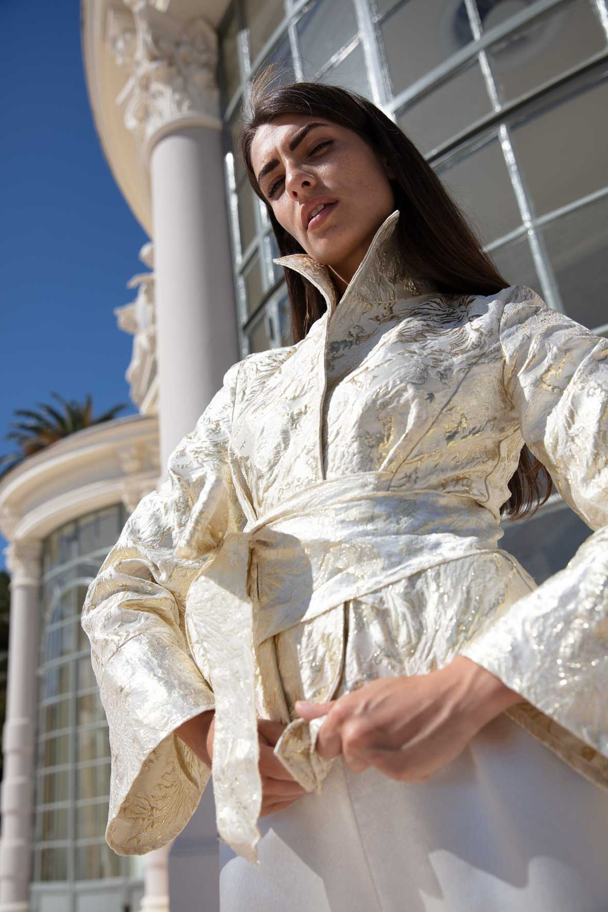 Diana d'Orville sustainable luxury couture bridal look